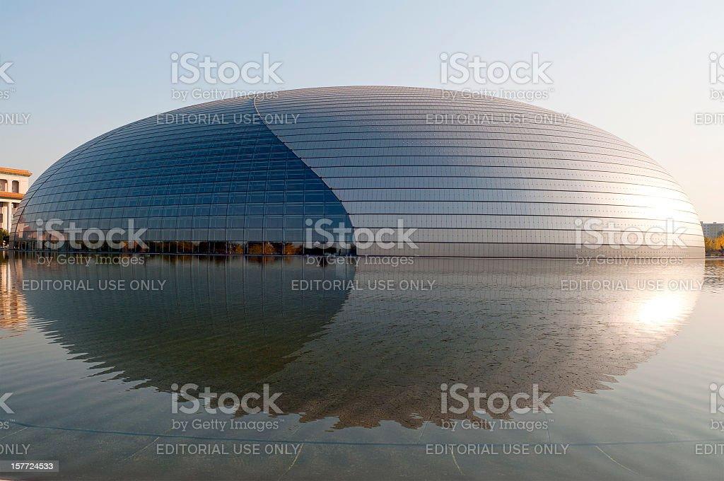 The Egg Beijing Opera House China royalty-free stock photo