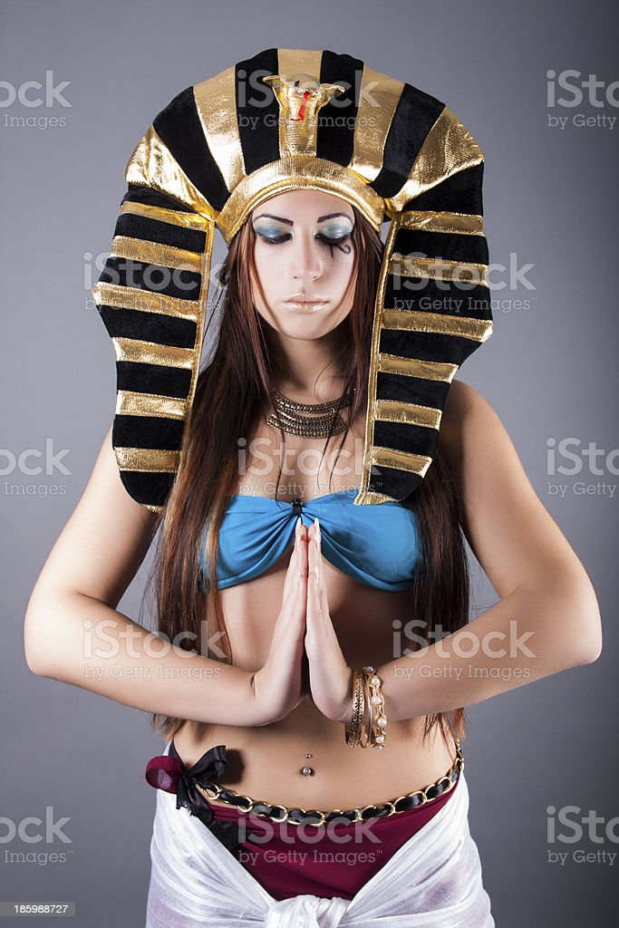 the egyptian queen cleopatra stock photo