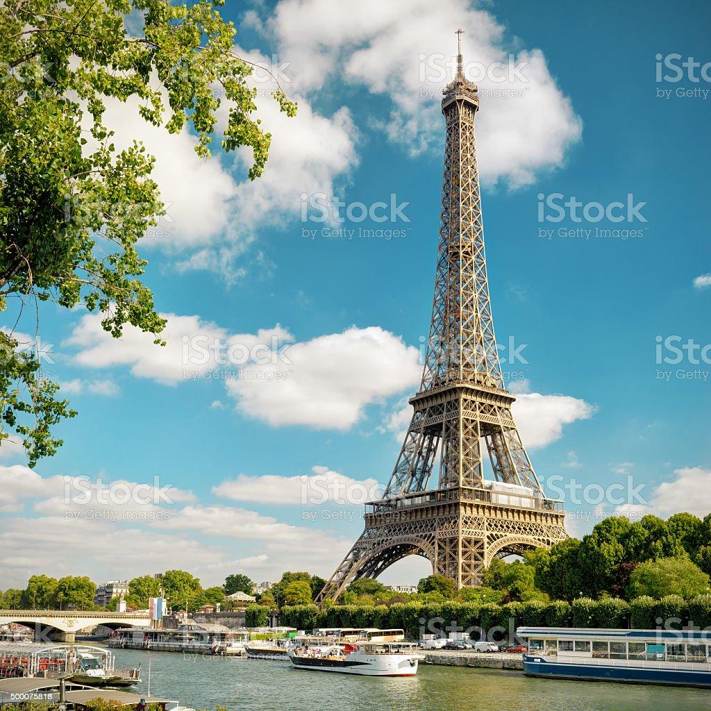The Eiffel in Paris stock photo