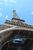 The Eiffel Tower in Paris, capital  city of France