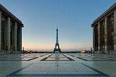 The 'Eiffel Tower' in the morning