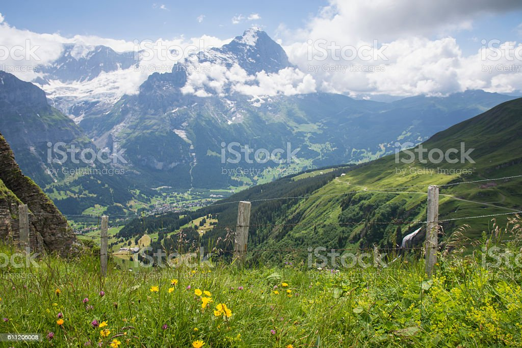 The Eiger stock photo