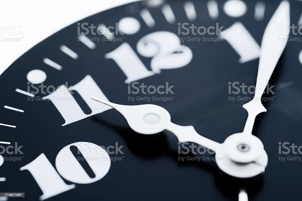 The Eleventh Hour stock photo
