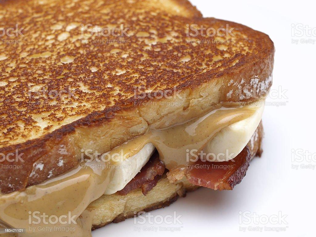 The Elvis Sandwich stock photo