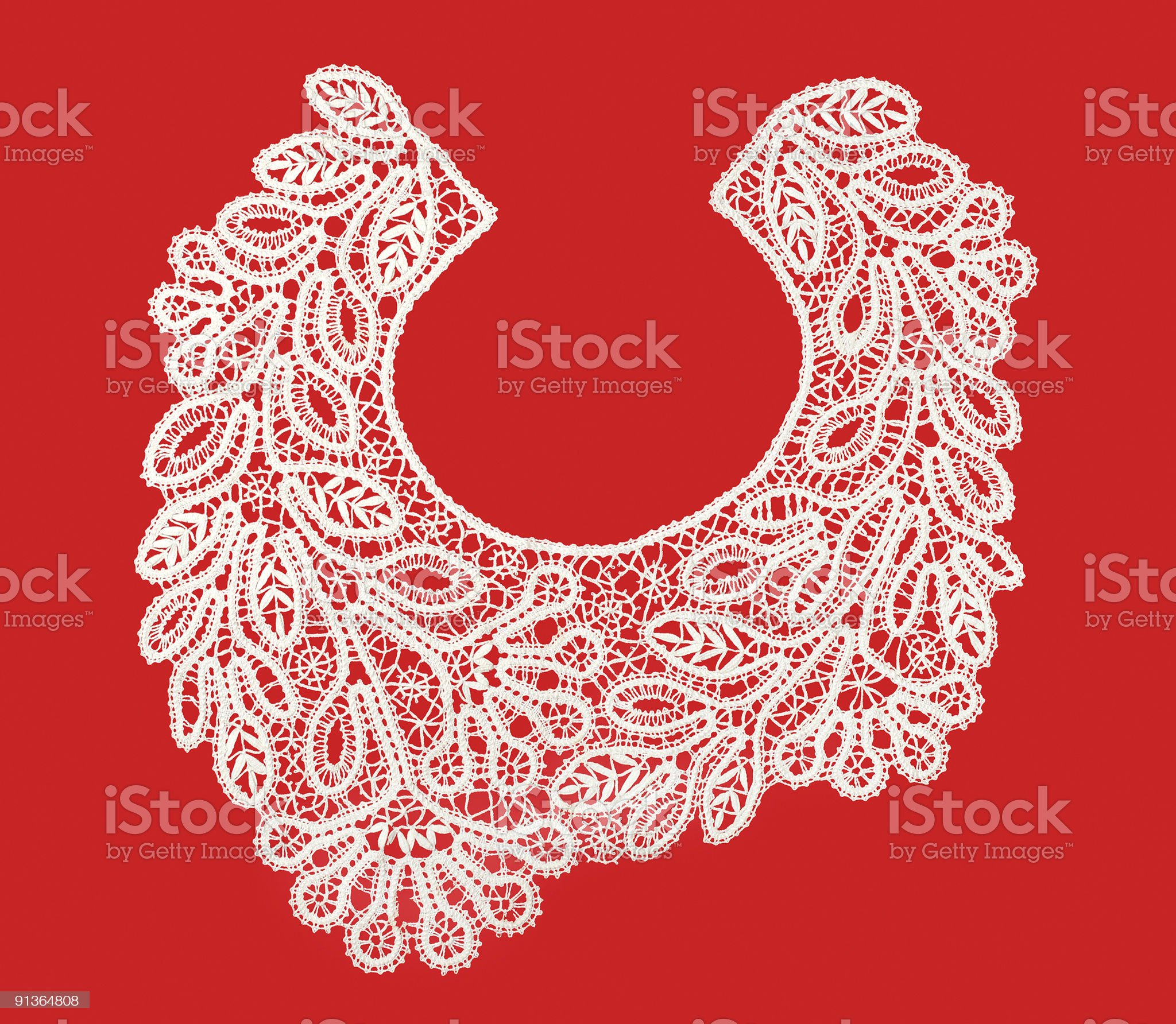 the embroidery hook royalty-free stock photo