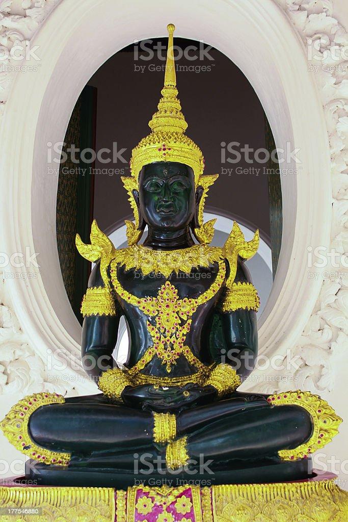 The emerald buddha,Thailand royalty-free stock photo