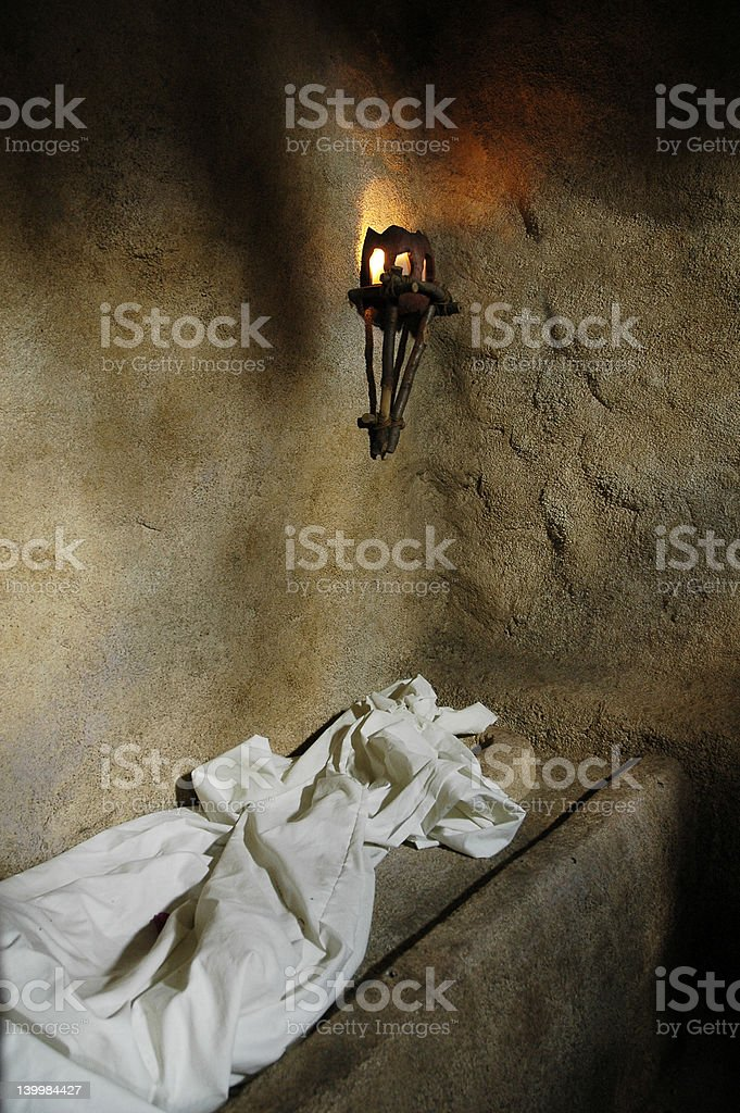 The Empty Garden Tomb stock photo