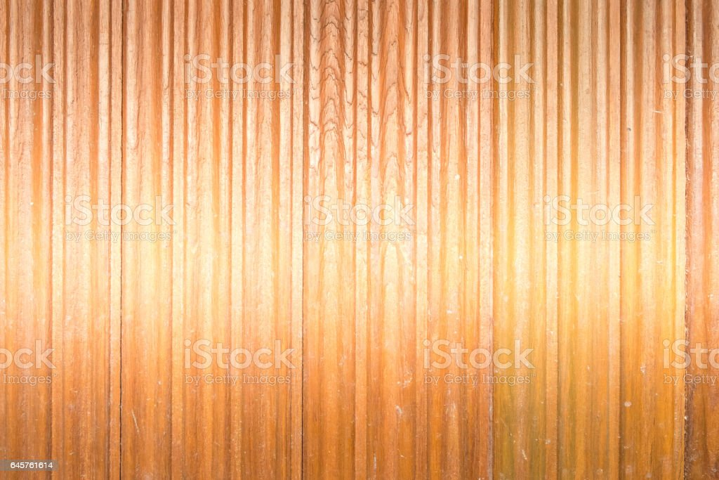 the empty showy colorful of abstract wood/plank material wall stock photo