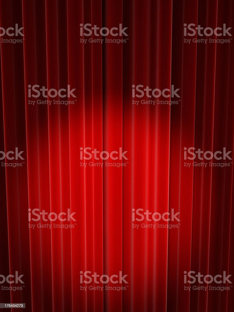 The Empty Stage royalty-free stock photo