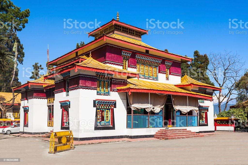 The Enchey Monastery stock photo