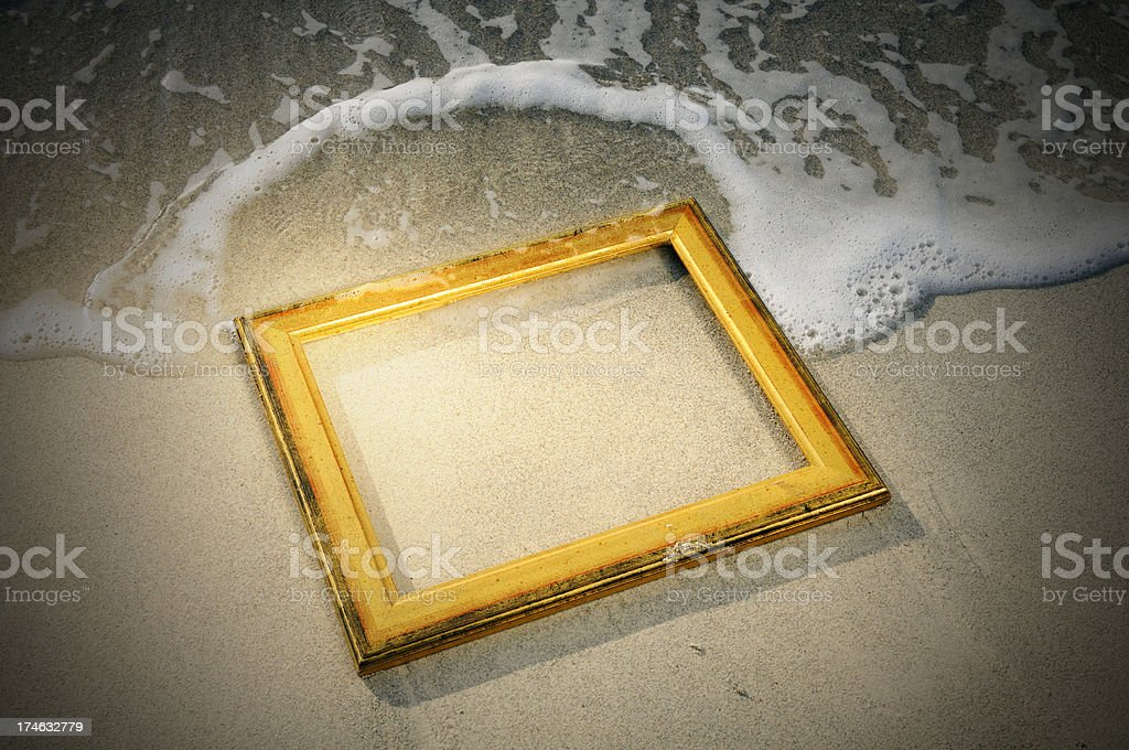 The end of art royalty-free stock photo
