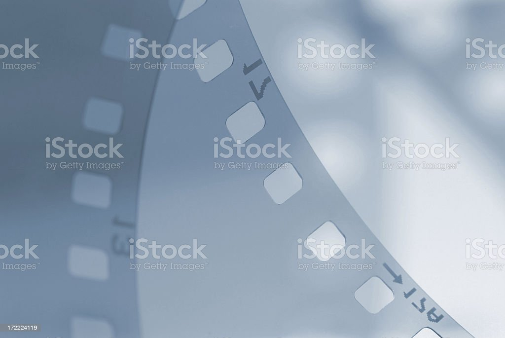 The end to film? royalty-free stock photo