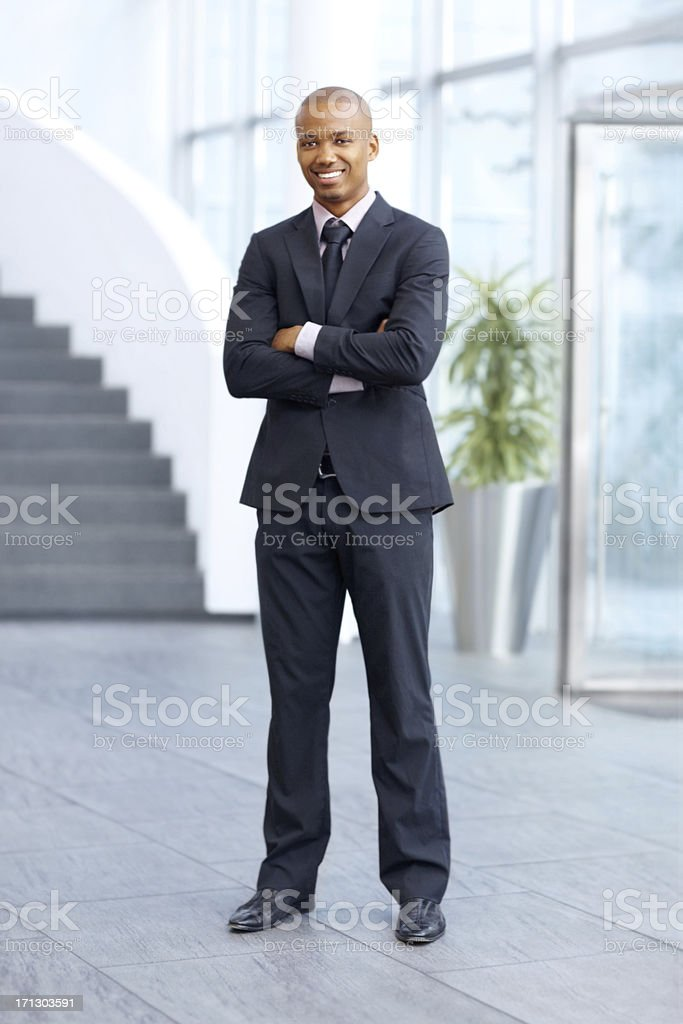 The energy and ambition to succeed! stock photo