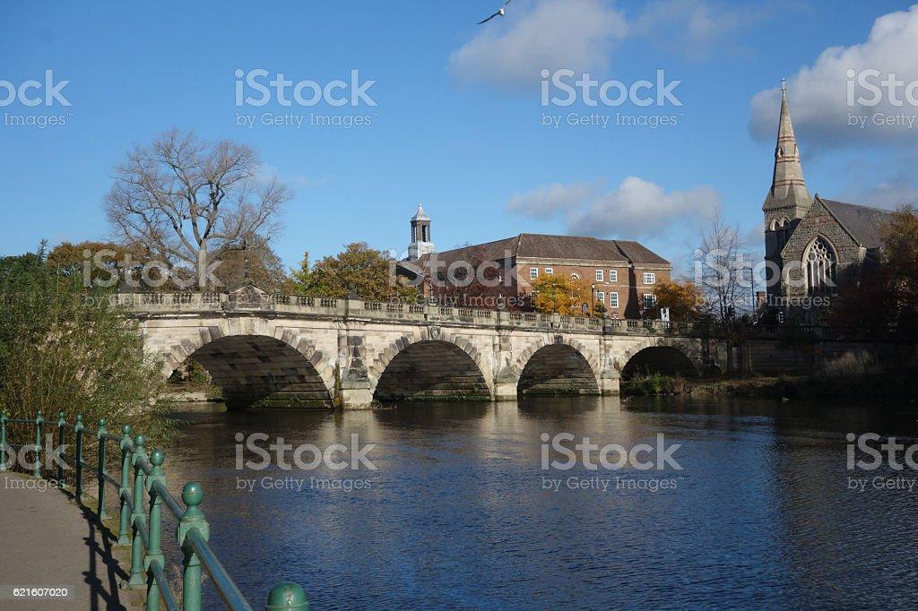 The English Bridge stock photo