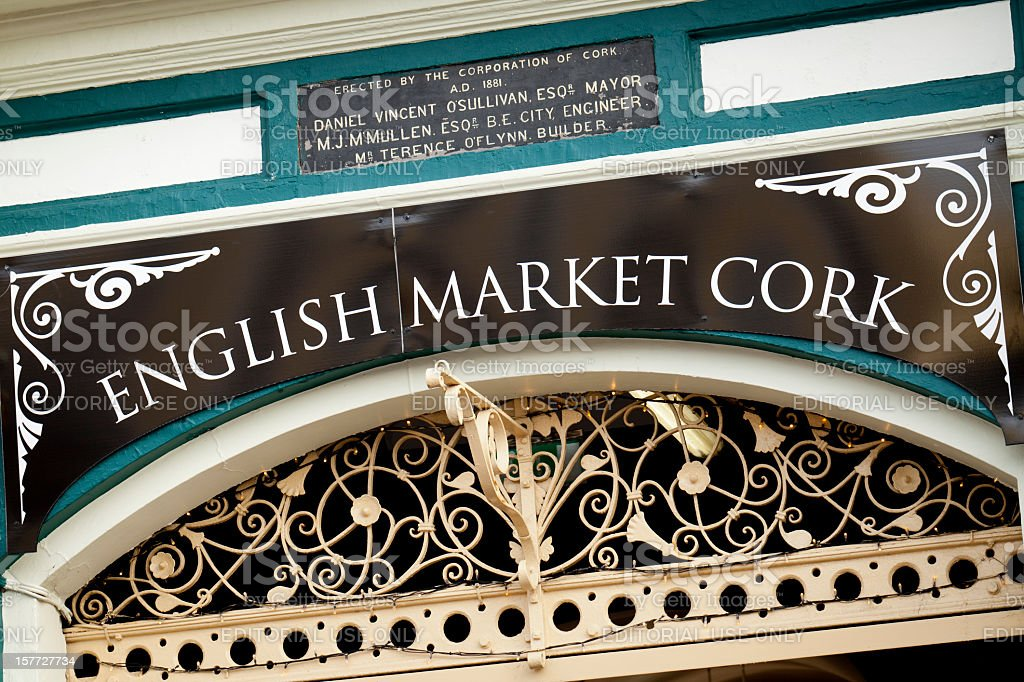 The English Market in Cork royalty-free stock photo