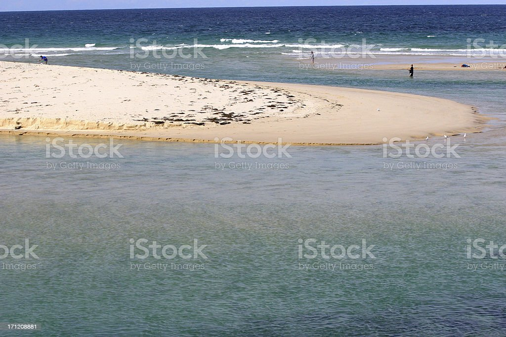 The Entrance beach royalty-free stock photo
