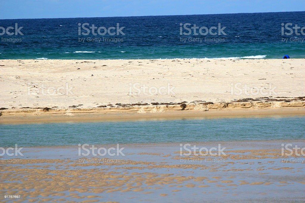 The Entrance beach royalty-free stock photo