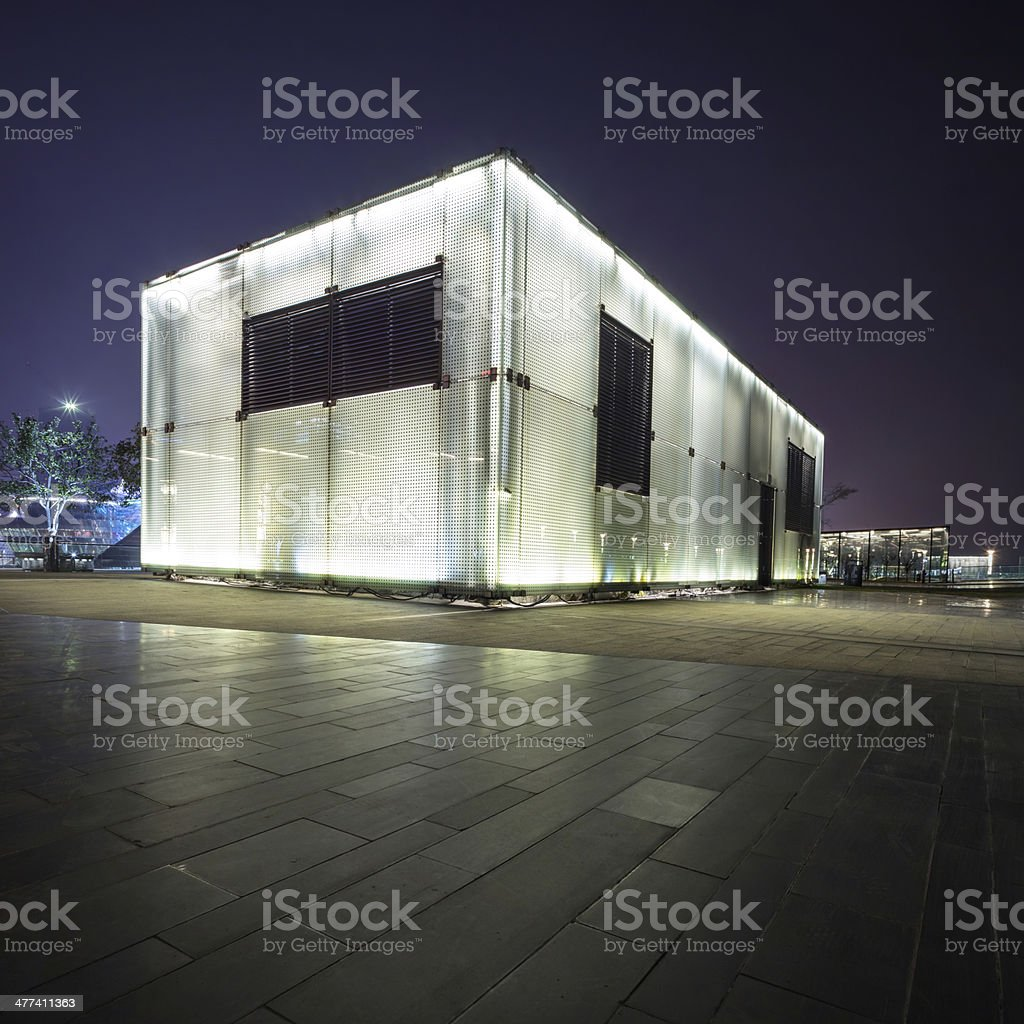 The entrance of station royalty-free stock photo
