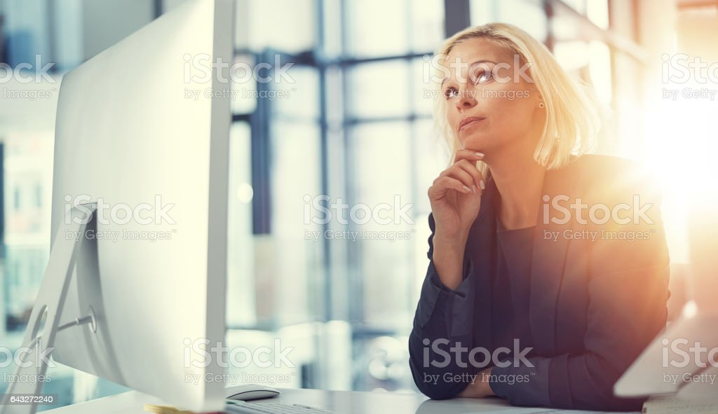 The entrepreneurial mind never stops imagining stock photo