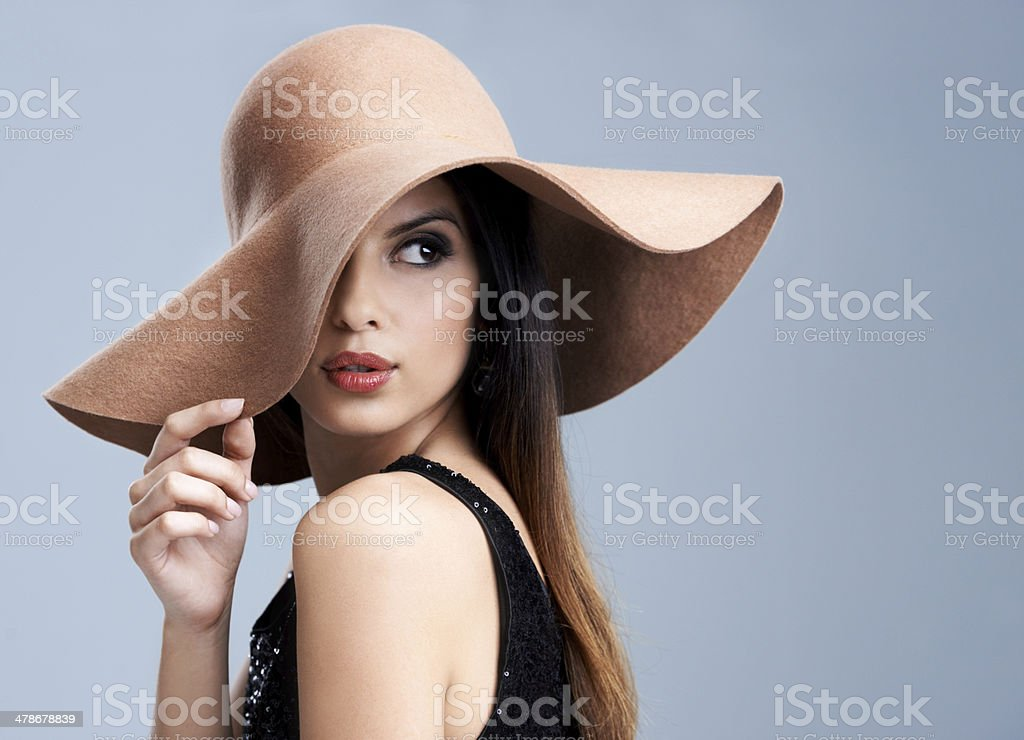The epitome of gorgeous elegance stock photo