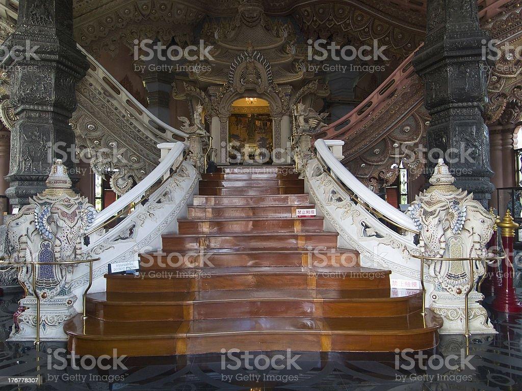 The Erawan Museum in Bangkok royalty-free stock photo