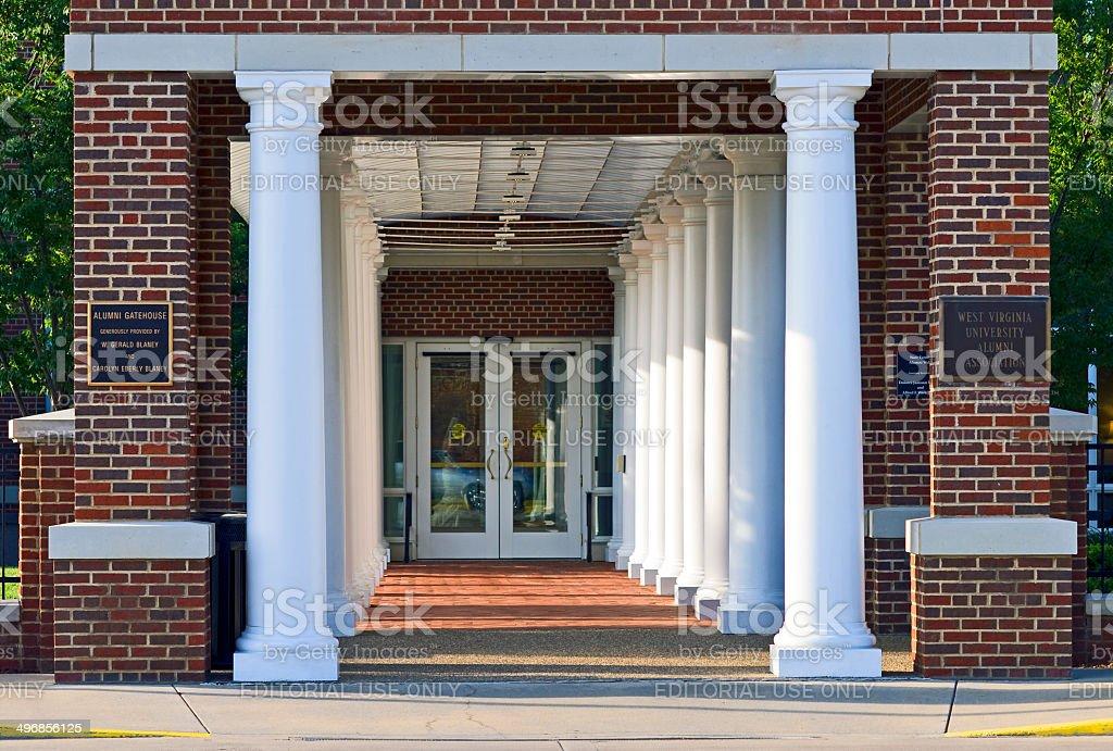 The Erickson Alumni Center at West Virginia University royalty-free stock photo