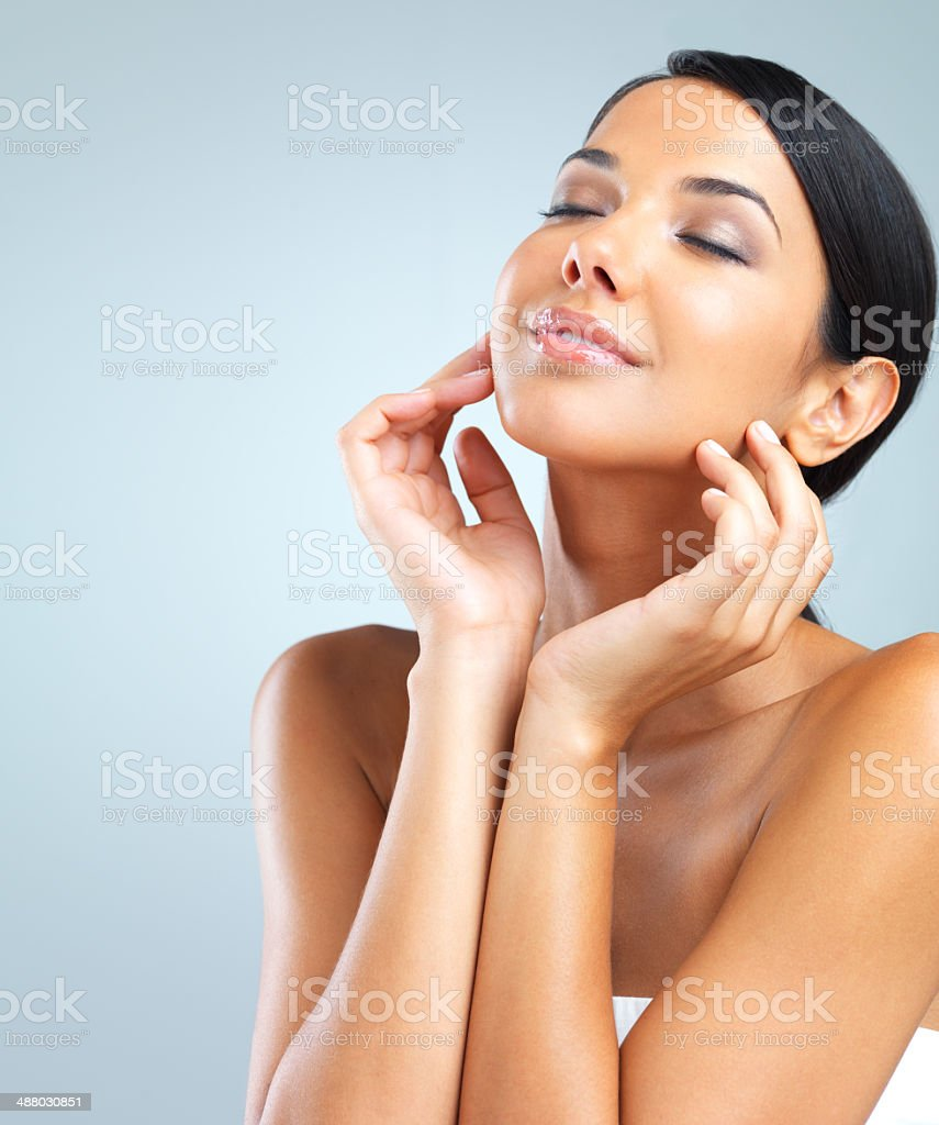 The essence of beauty stock photo