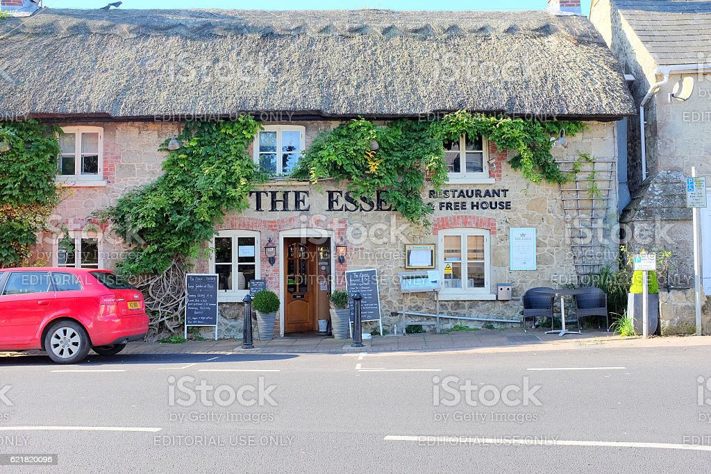 The Essex, Godshill, Isle of Wight. stock photo