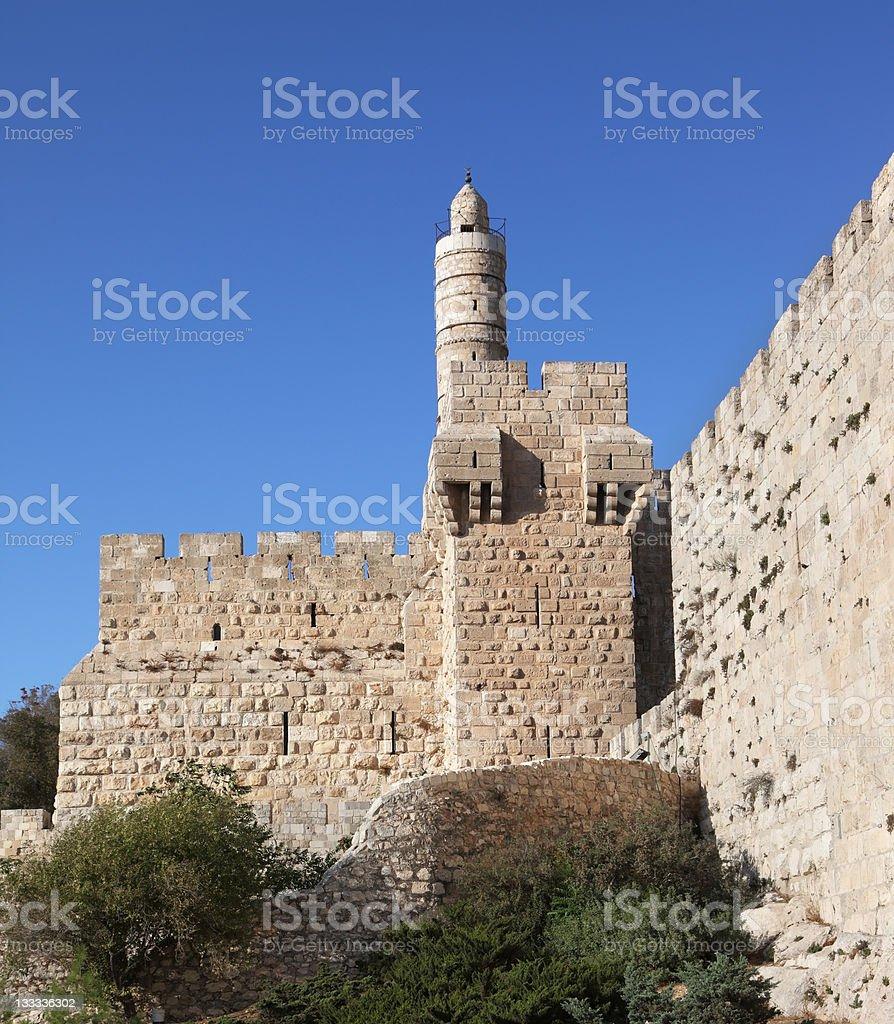 The Eternal Jerusalem royalty-free stock photo