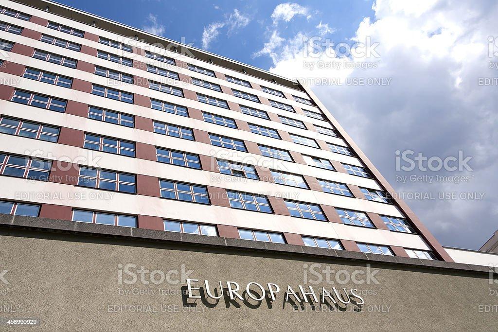 The Europahaus in Berlin stock photo