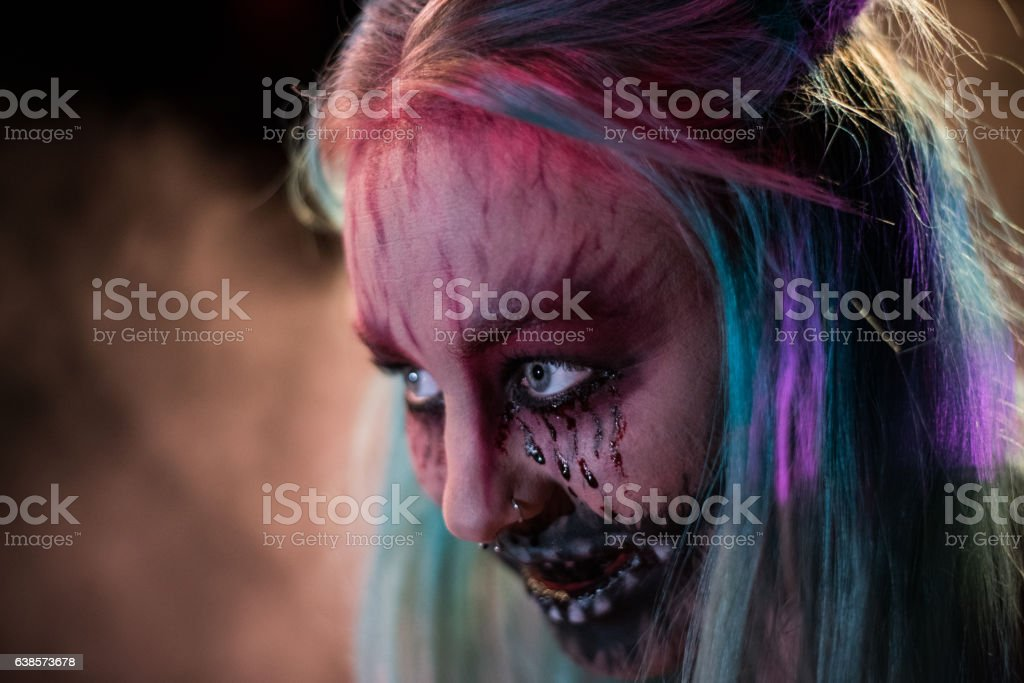 The Evil Witch stock photo