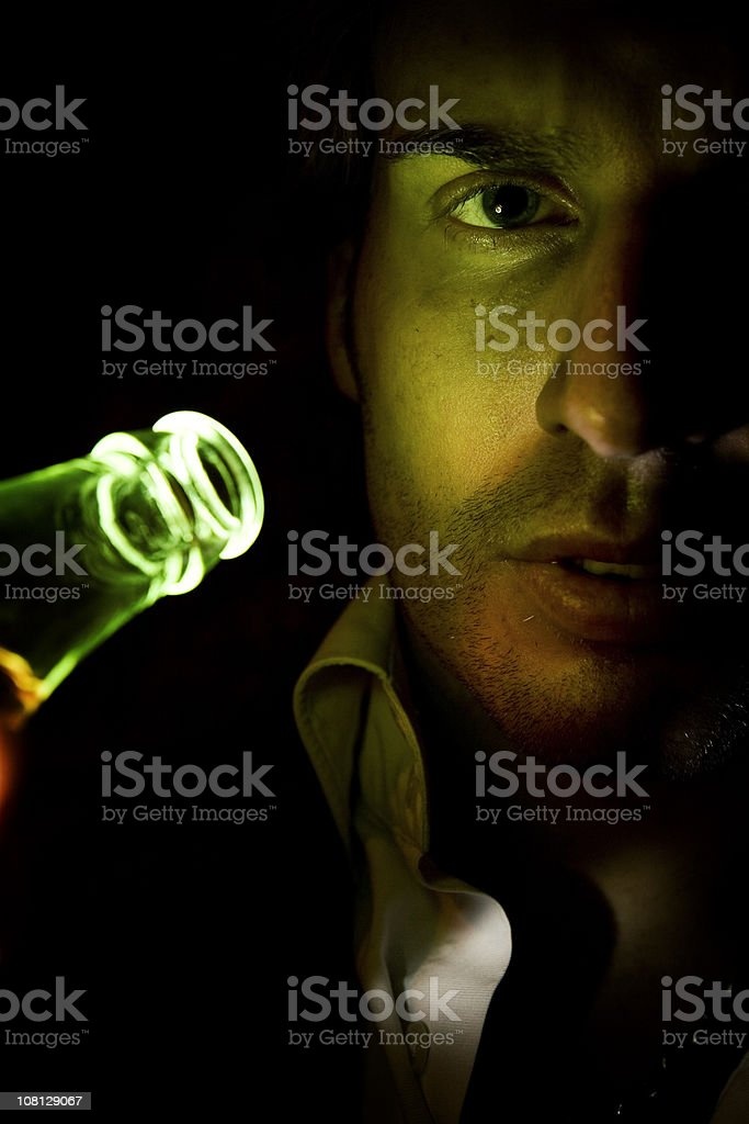 the evils of drink royalty-free stock photo