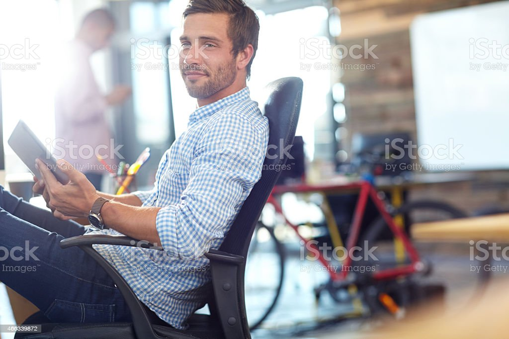 The expert in anything was once a beginner stock photo