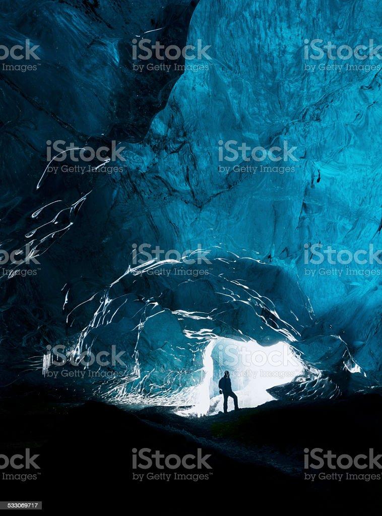 The explorer stock photo