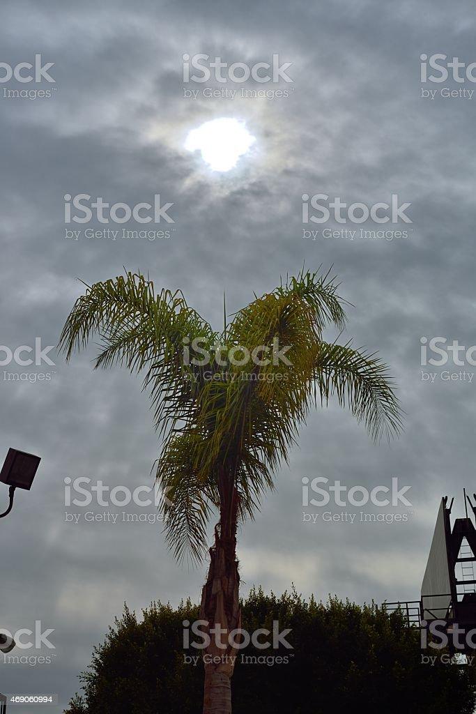 La vista desde el cielo - foto de stock