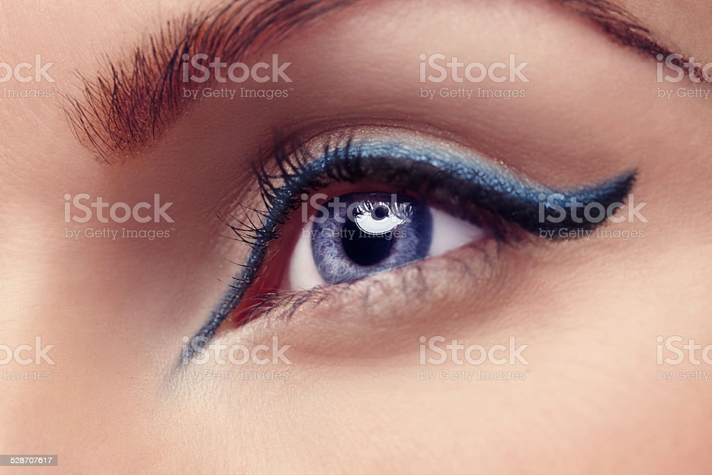The eyes are the window to the soul stock photo