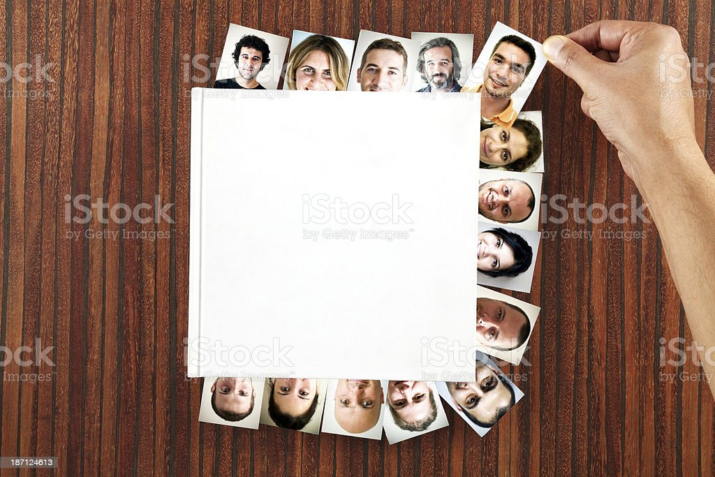 The Face Book royalty-free stock photo