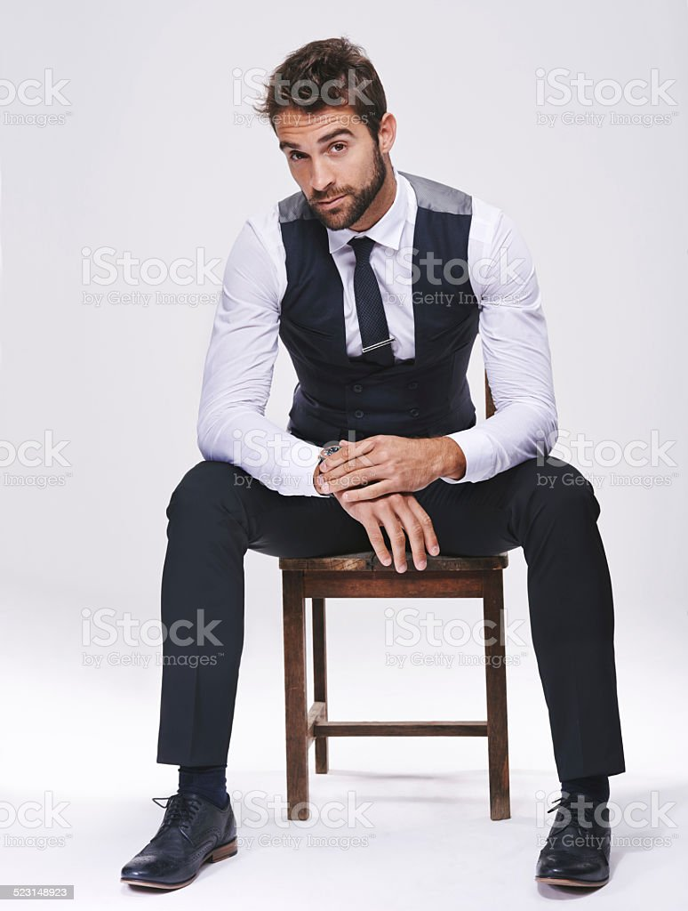 The face of fashion stock photo