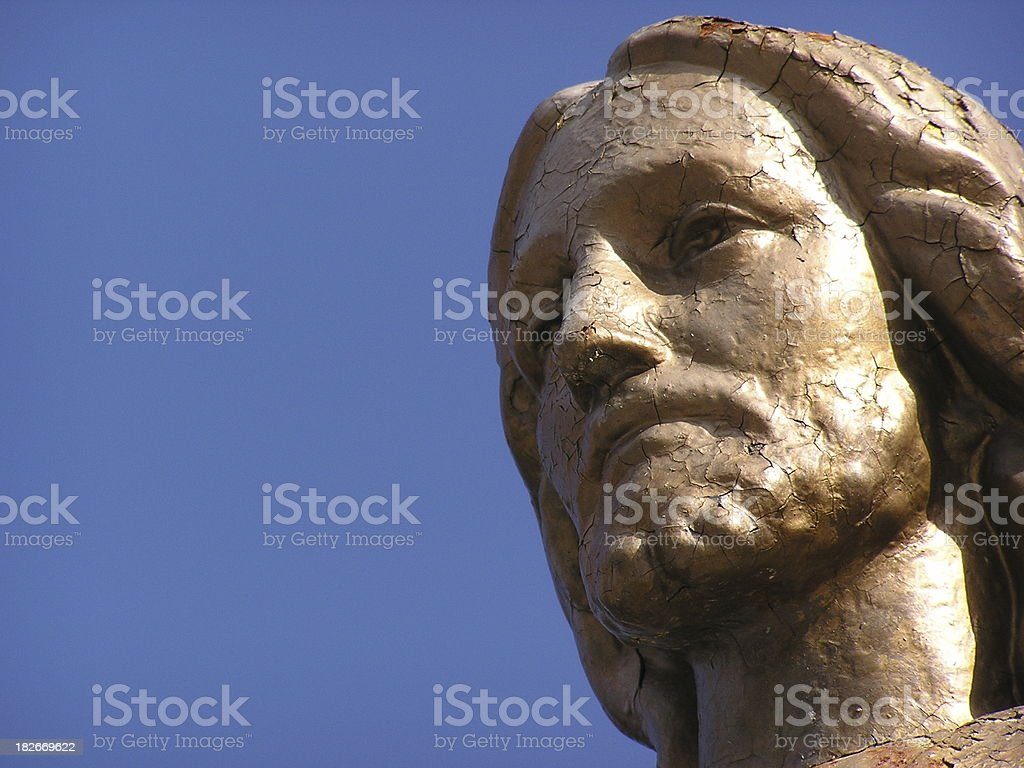 The Face of Jesus Christ royalty-free stock photo