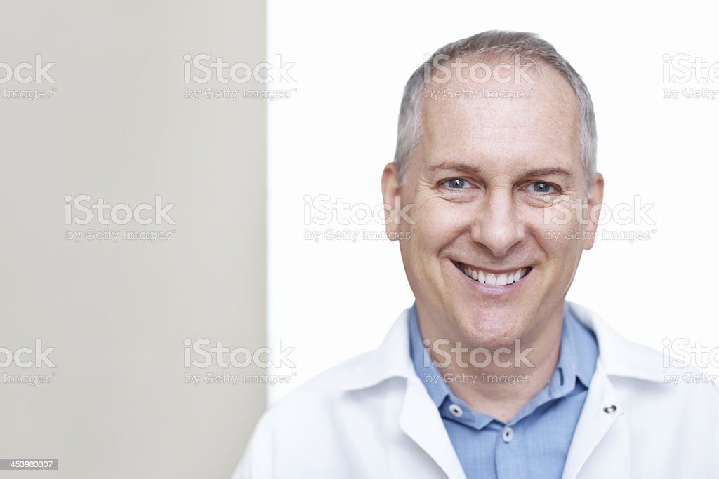 The face of job satisfaction royalty-free stock photo