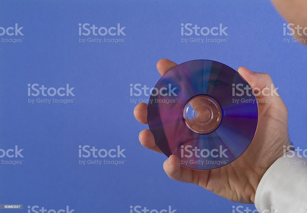 The Face of Technology stock photo