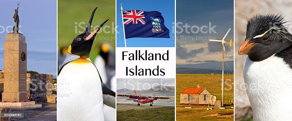 The Falkland Islands - Islas Malvinas stock photo