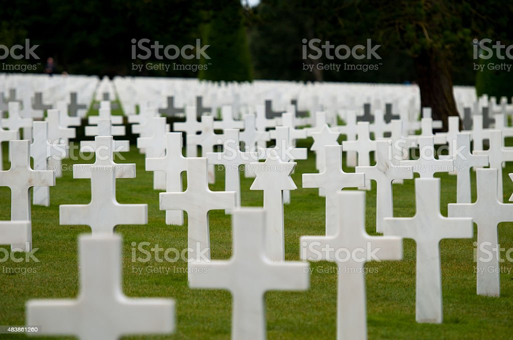 The fallen heros stock photo