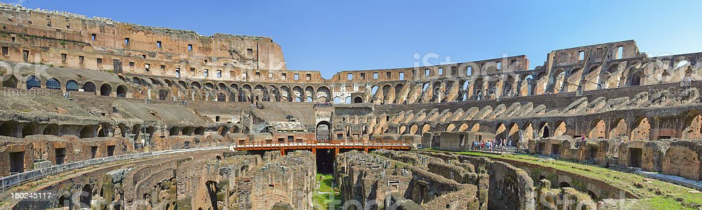 The famous Coliseum in Rome. royalty-free stock photo