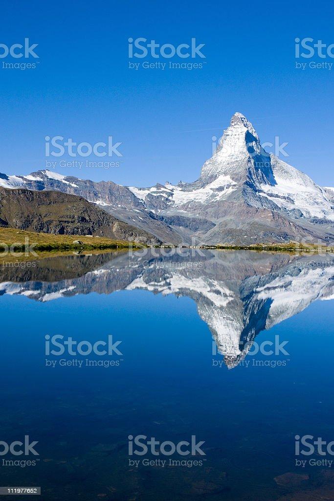 The famous Matterhorn royalty-free stock photo