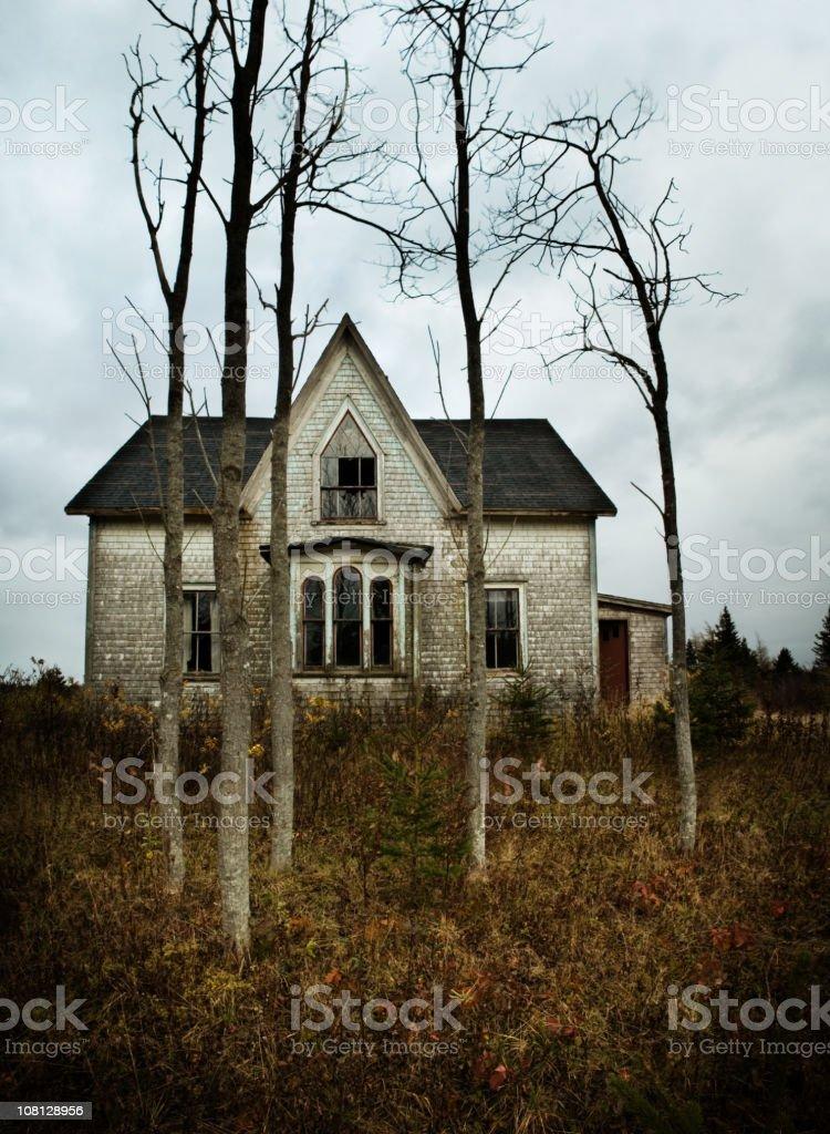 The Farm House royalty-free stock photo
