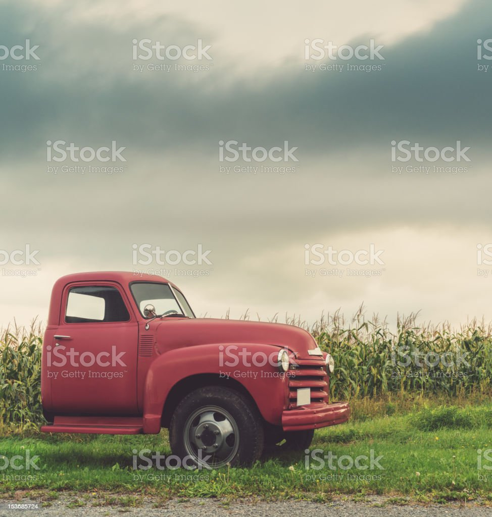 The Farm Truck stock photo