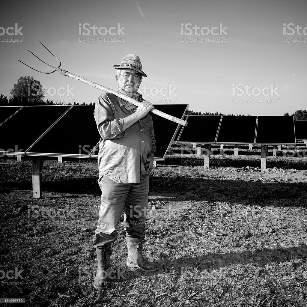 The Farmer royalty-free stock photo