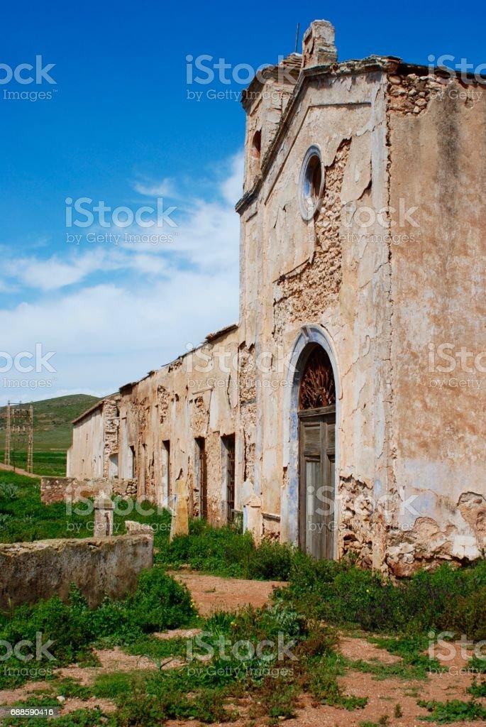 the farmhouse stock photo
