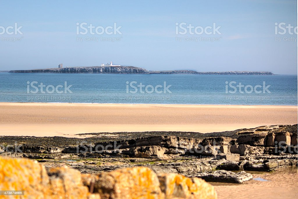 The Farne Islands stock photo